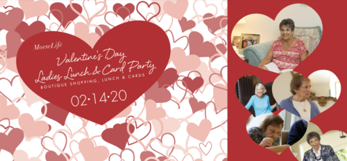 Valentines day ladies lunch and card party